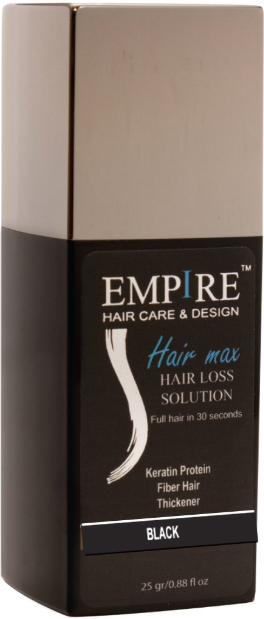EMPIRE HAIR MAX BLACK