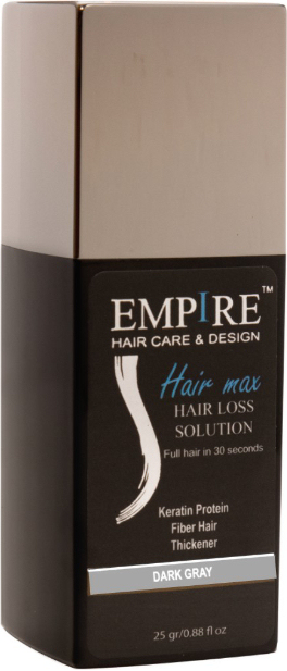 EMPIRE HAIR MAX DARK GRAY