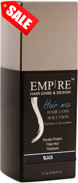 מבצע 3plus1 <br>EMPIRE HAIR MAX BLACK