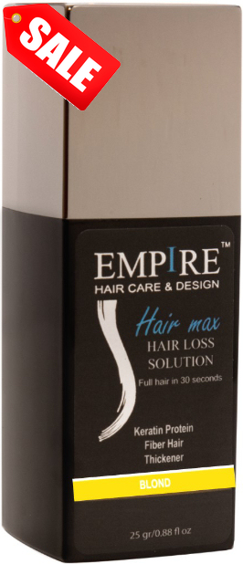 מבצע 3plus1 <br>EMPIRE HAIR MAX BLOND